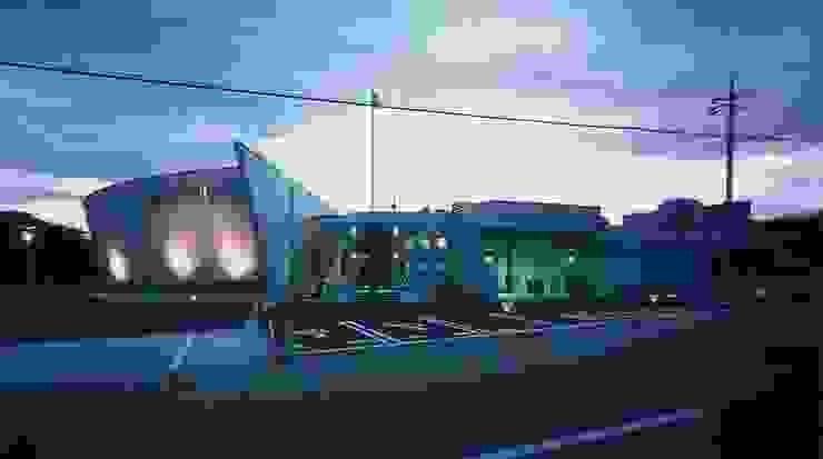 外観 オリジナルな 家 の 株式会社 t2・アーキテクトデザイン 一級建築士事務所 オリジナル コンクリート