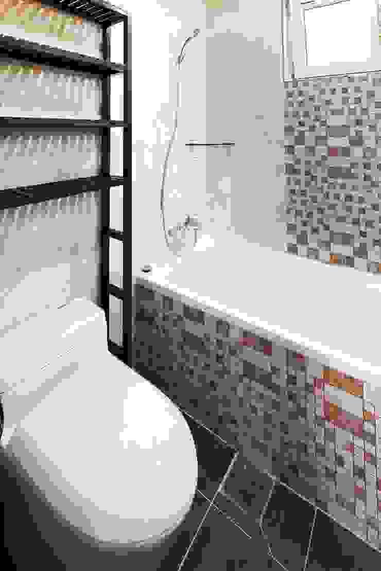 햇살품은 미니멀리즘 주택 [용인 방아리] 모던스타일 욕실 by 윤성하우징 모던