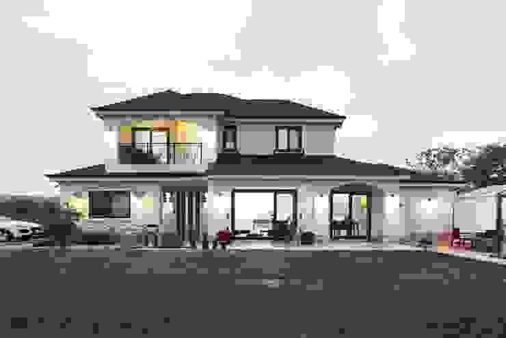 Projekty,  Domy zaprojektowane przez 윤성하우징, Klasyczny