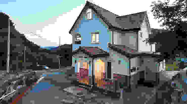 Дома в средиземноморском стиле от 윤성하우징 Средиземноморский