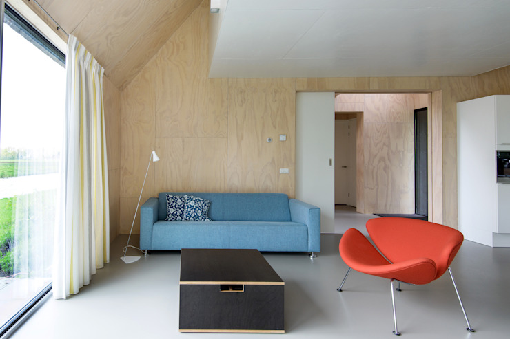 Living room by Kwint architecten,