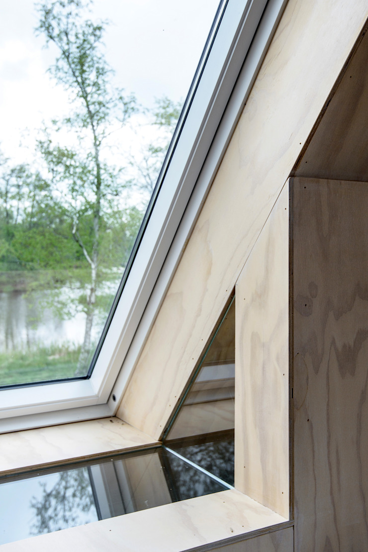 Zomerhuis Midlaren Minimalistische ramen & deuren van Kwint architecten Minimalistisch