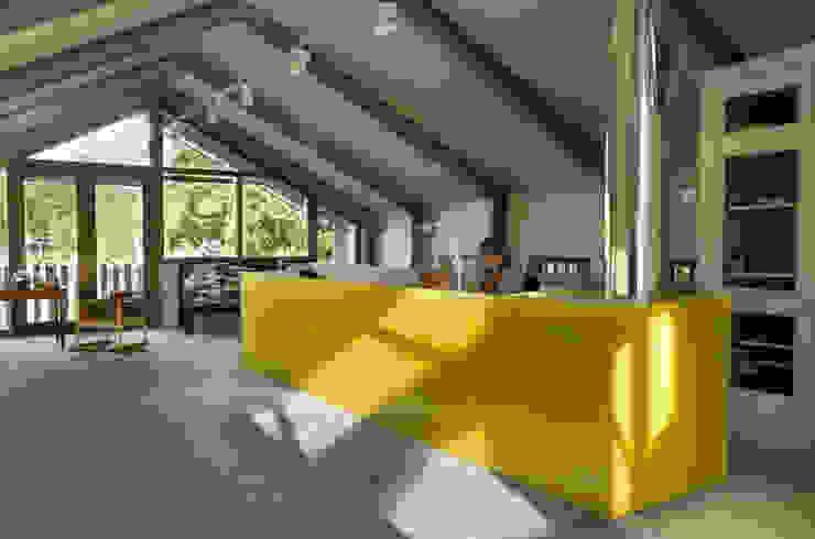 Schuurwoning Loenen aan de Vecht Landelijke studeerkamer van Kwint architecten Landelijk