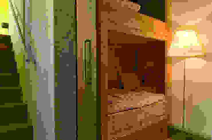 Schuurwoning Loenen aan de Vecht Landelijke slaapkamers van Kwint architecten Landelijk