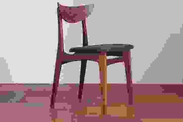 椅子: 木工yamagenが手掛けたスカンジナビアです。,北欧 木 木目調