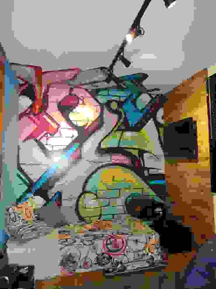 Adesivo Decorativo Grafite por Decoralis Moderno