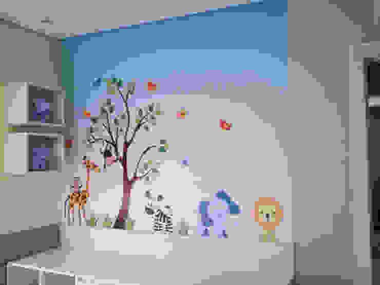 Adesivo Decorativo Selva Baby por Decoralis Moderno
