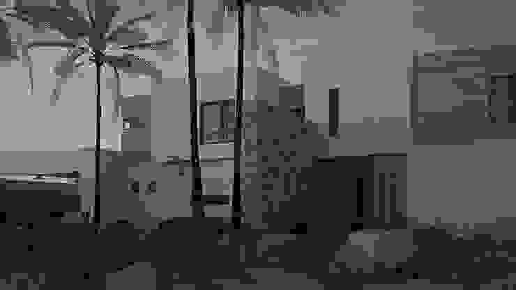Casa AnEr Casas modernas de Arqozs Moderno