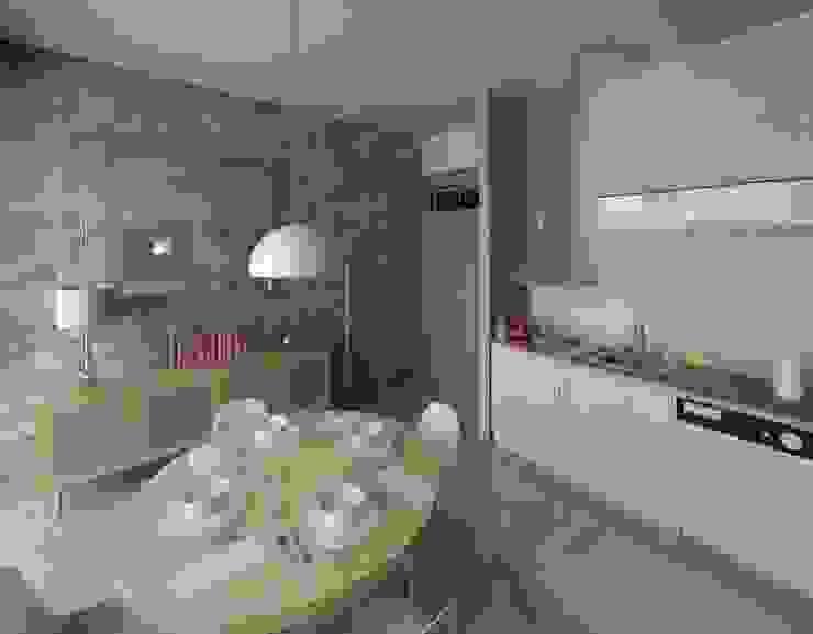 现代客厅設計點子、靈感 & 圖片 根據 Marta d'Alte Arquitetura 現代風