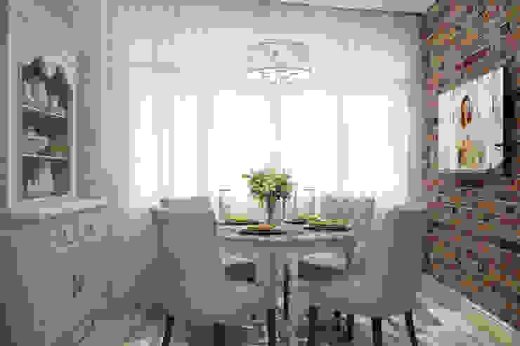 Студия дизайна Дарьи Одарюк ห้องครัว Multicolored