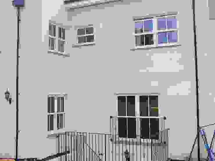 Traditional sash windows Marvin Windows and Doors UK Pintu & Jendela Gaya Kolonial Kayu White