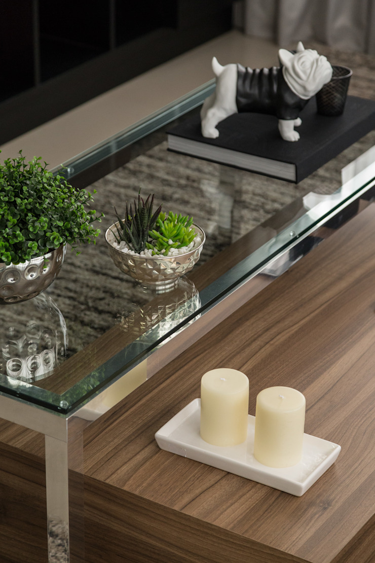 modern  by Stefani Arquitetura, Modern Aluminium/Zinc