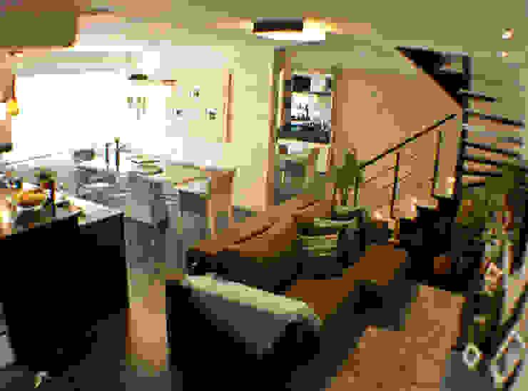Sala TV e Jantar integrados Salas de jantar clássicas por Sandra Pompermayer Arquitetura e Interiores Clássico