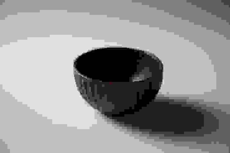 しのぎボウル: 工房えらむが手掛けた折衷的なです。,オリジナル 木 木目調