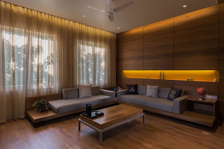 Modern Living Room by Archtype Modern
