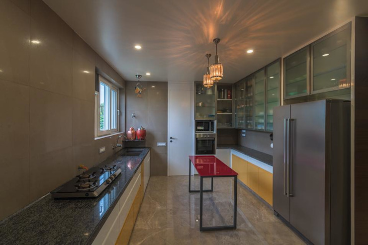 Lunavat residence Modern kitchen by Archtype Modern