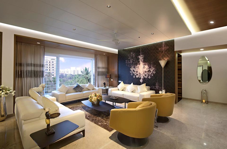 Residence Modern living room by Archtype Modern