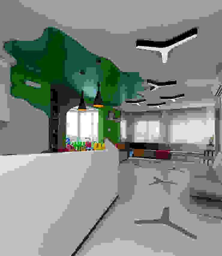 RESEPSİYON Modern Klinikler Mimoza Mimarlık Modern