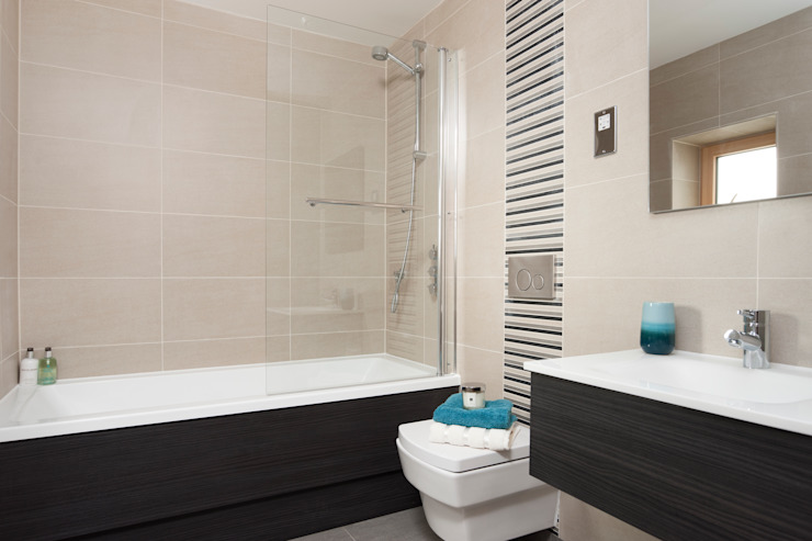 Oyster Reach Modern style bathrooms by Lee Evans Partnership Modern