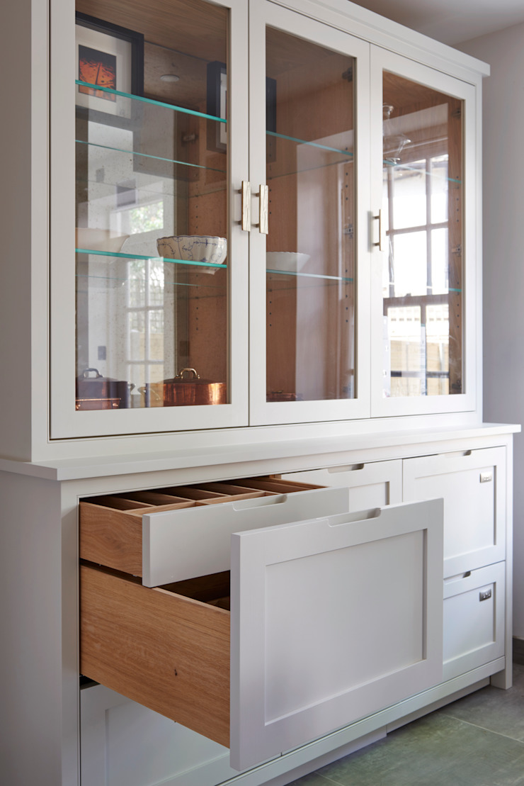 industrial  by Holloways of Ludlow Bespoke Kitchens & Cabinetry, Industrial Wood Wood effect