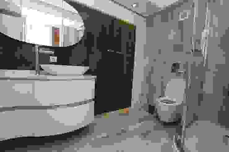 Aksoy Residence Modern Banyo BAGO MİMARLIK Modern