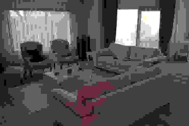 BAGO MİMARLIK  – Urla B.T Evi:  tarz Oturma Odası