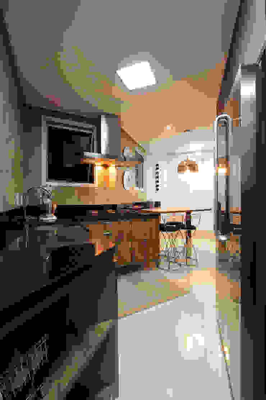 Cozinha Cozinhas modernas por Régua Arquitetura Moderno