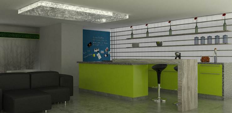 COMEDOR de santiago dussan architecture & Interior design Moderno