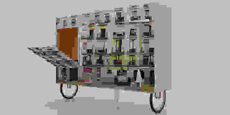 MUEBLE DE ENTRETENIMIENTO de santiago dussan architecture & Interior design Moderno