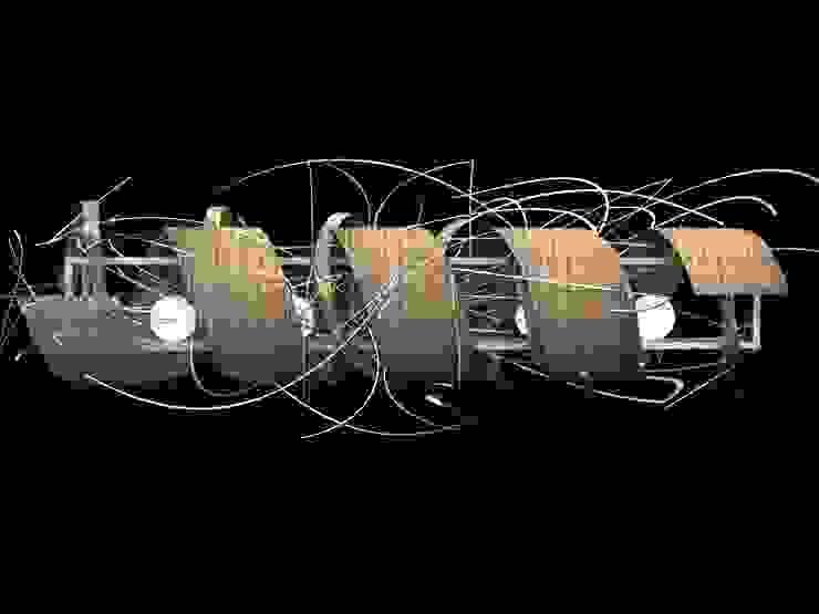 LAMPARA de santiago dussan architecture & Interior design Moderno