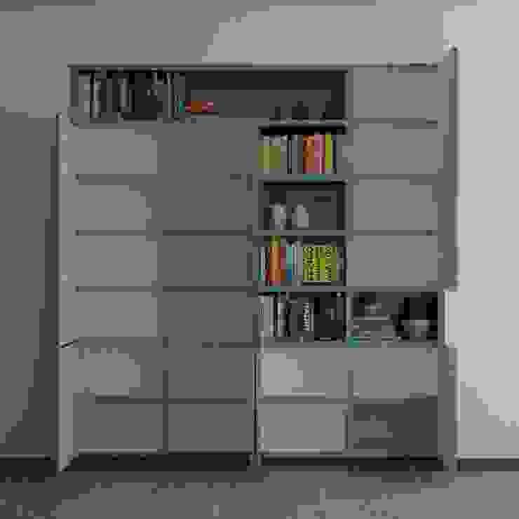 BIBLIOTECA de santiago dussan architecture & Interior design Moderno