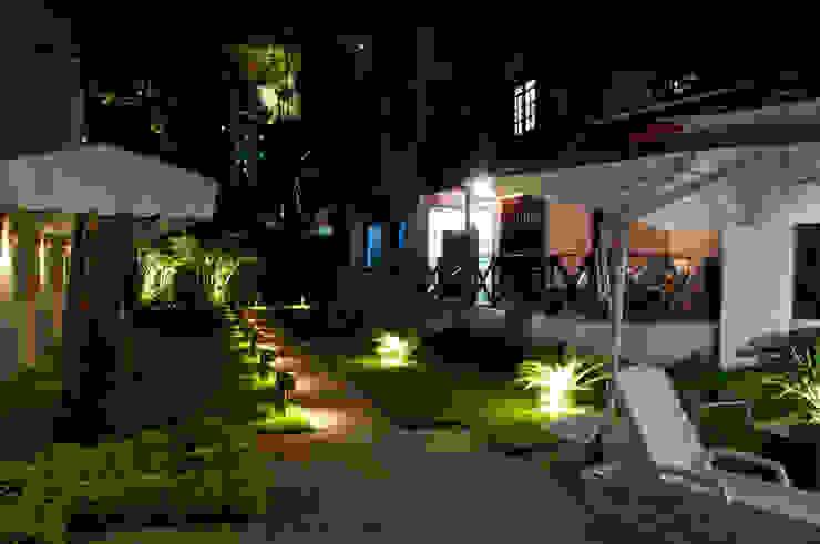 Res. Umarizal Jardins campestres por L+A Arquitetura de iluminação Campestre