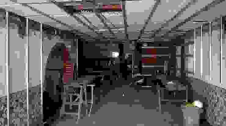 Estrutura principal de teto. por knowhowtobuild