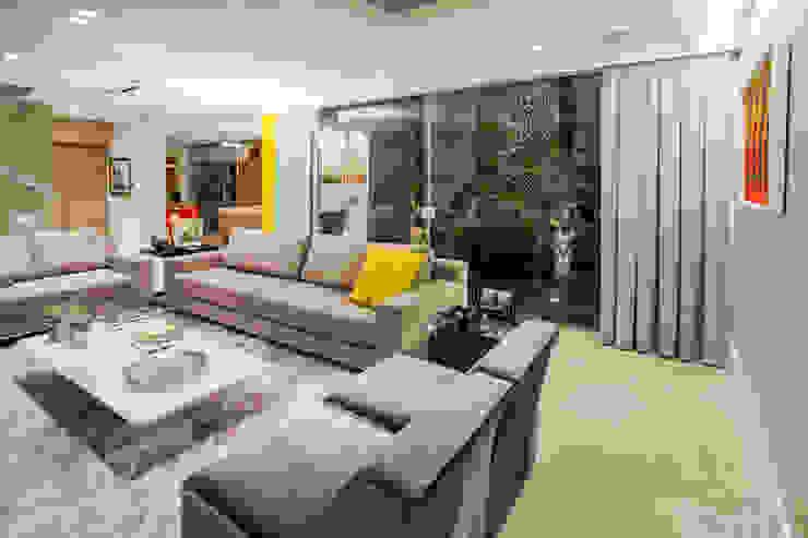 Res. Batista Campos Salas de estar modernas por L+A Arquitetura de iluminação Moderno
