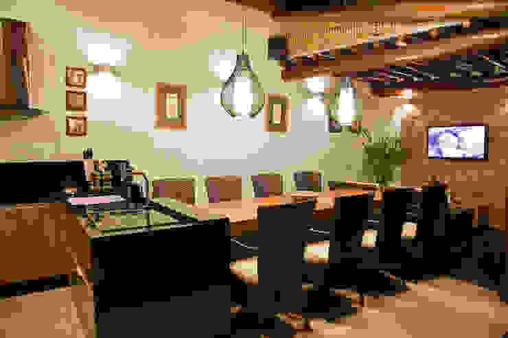 EdVasco Decorações Casas de estilo rústico