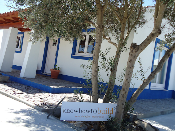 Decoração Mural Exterior. Casas campestres por knowhowtobuild Campestre