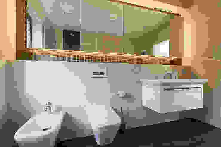 wnętrza Nowoczesna łazienka od STUDIO ROGACKI Nowoczesny