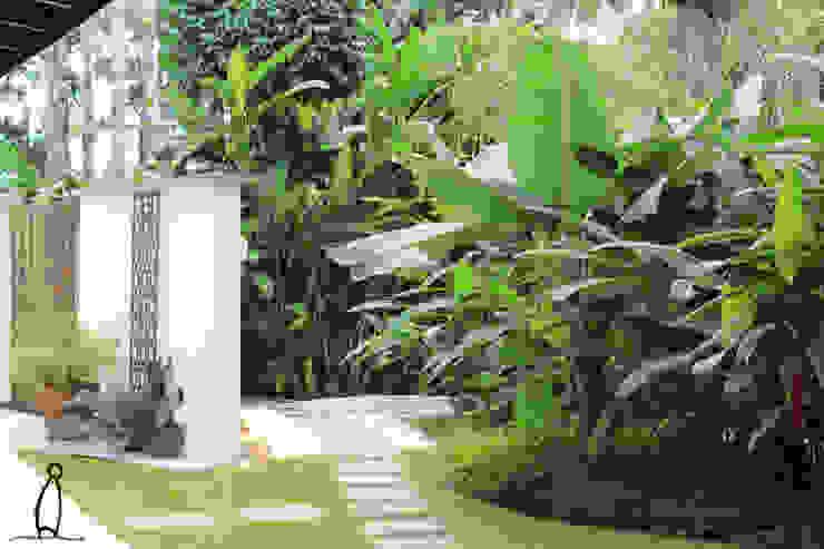 Jardim Jardins rústicos por Leben Arquitetura Rústico