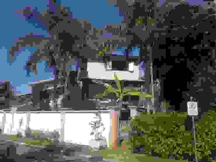 Fachada Casas rústicas por Leben Arquitetura Rústico