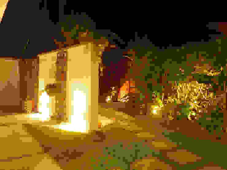 Jardim da Ducha Jardins rústicos por Leben Arquitetura Rústico