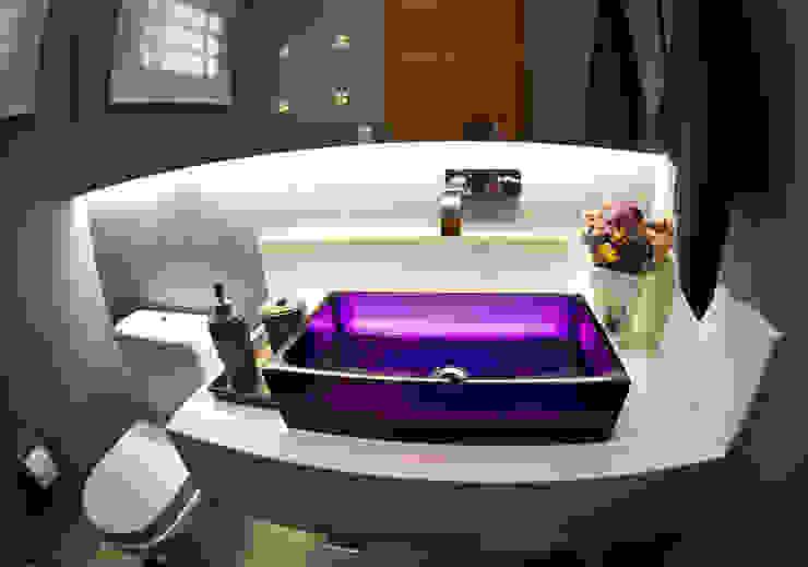 Lavabo: Banheiros  por INOVA Arquitetura,