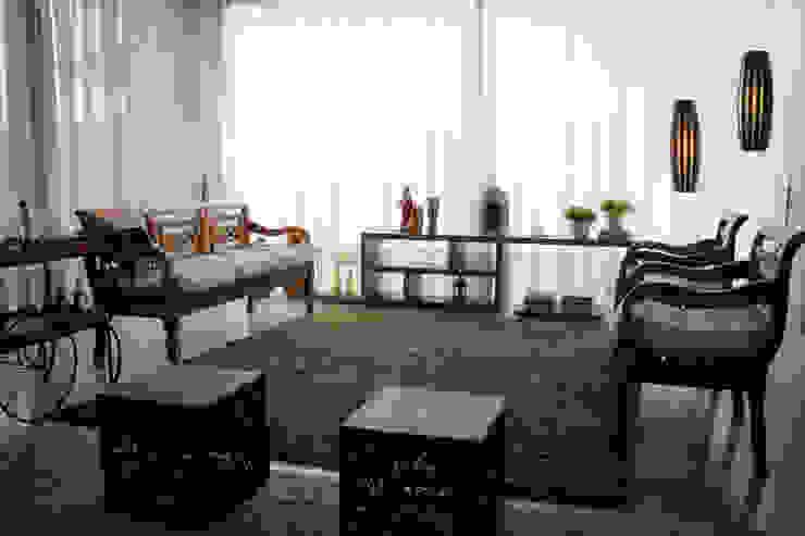 Residência Primavera Salas de estar modernas por Andrea F. Bidóia Arquiteta Moderno