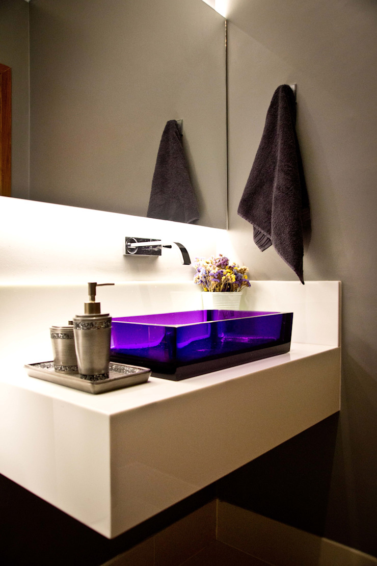 Lavabo Banheiros modernos por INOVA Arquitetura Moderno