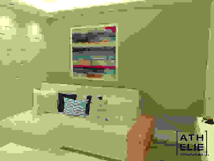 Sala de Estar [Living] Salas de estar modernas por ATHeliê Arquitetura Moderno