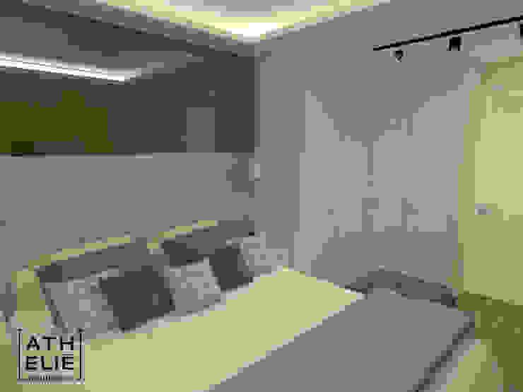 Suíte - Quarto do casal [Bedroom] Quartos modernos por ATHeliê Arquitetura Moderno