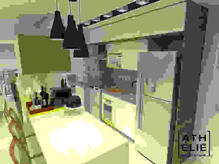 Cozinha Integrada Cozinhas modernas por ATHeliê Arquitetura Moderno