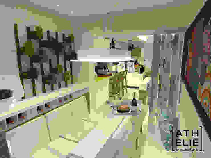 Sala de Jantar Salas de jantar modernas por ATHeliê Arquitetura Moderno