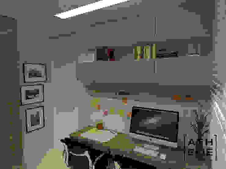 Home Office Escritórios modernos por ATHeliê Arquitetura Moderno