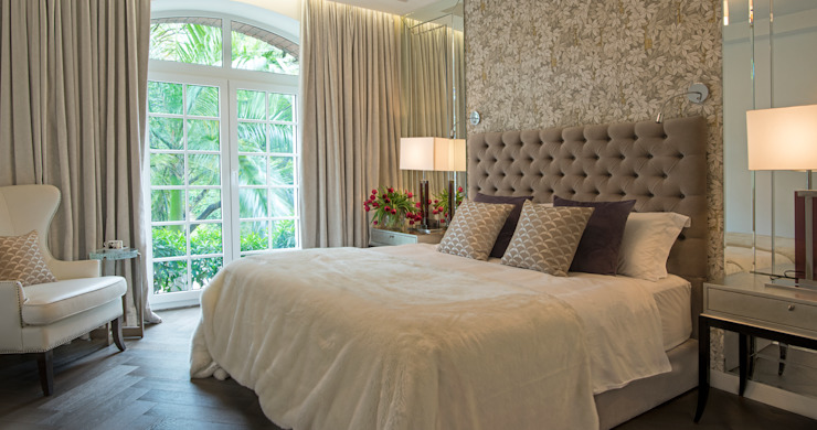 Maximalist Modern Modern Bedroom by Design Intervention Modern