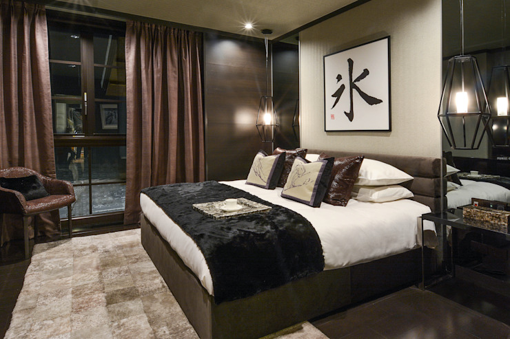 Kasara Townhouse Modern style bedroom by Design Intervention Modern